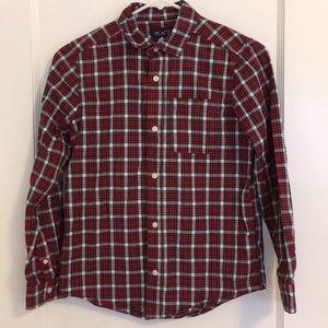 Children's Place Plaid Button Down Shirt